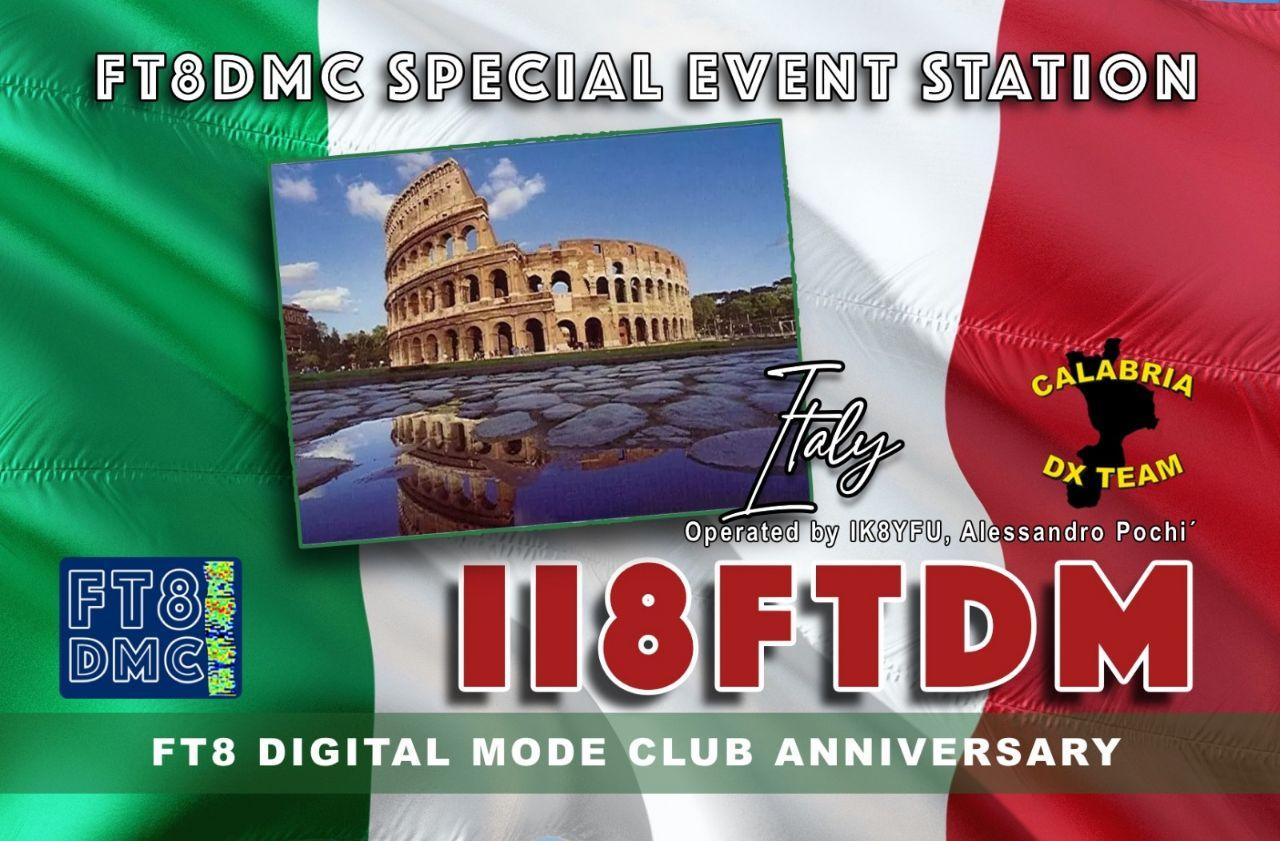 FT8DMC Special Event Station – Anniversario 2017/2019