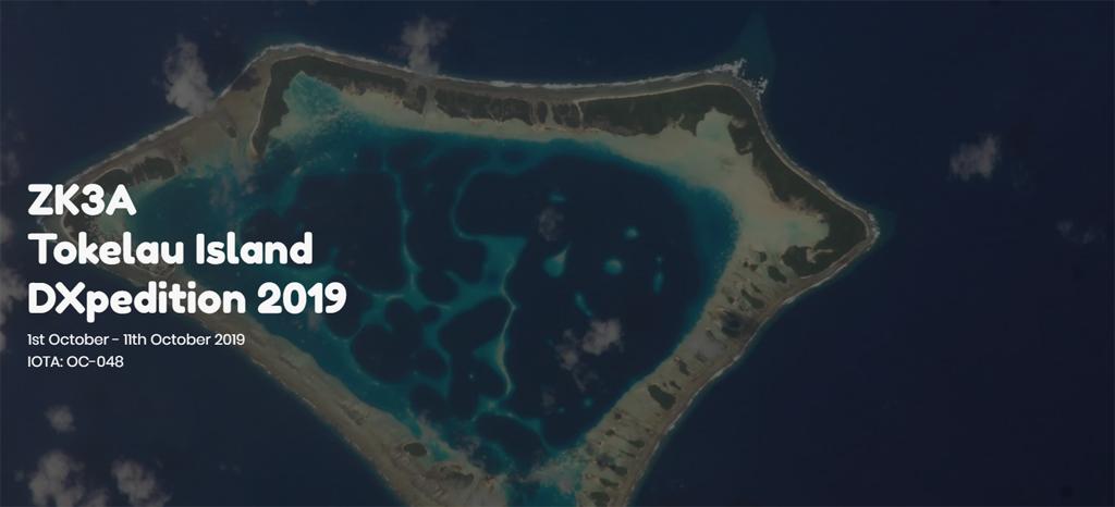 ZK3A Tokelau Island saranno attivi in FT8