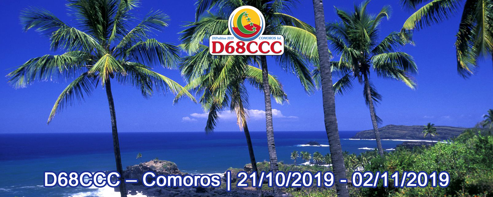 D68CCC Comoros Islands saranno attivi in FT8