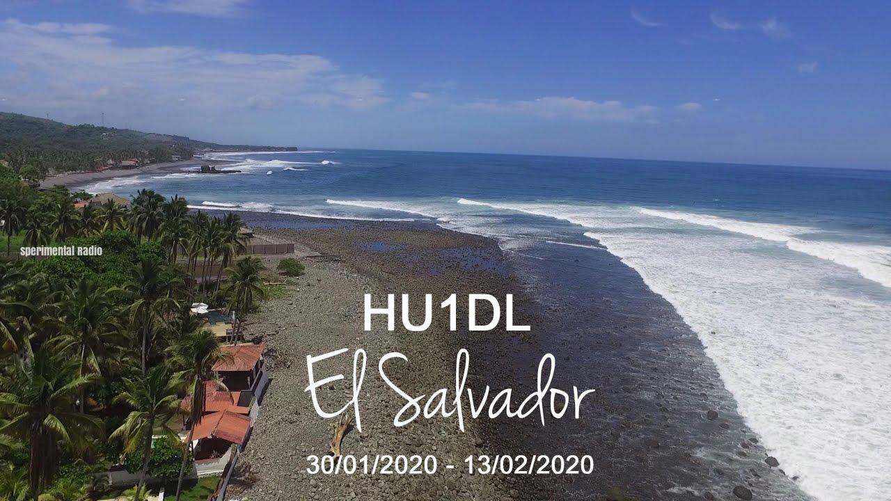 HU1DL El Salvador saranno attivi in FT8