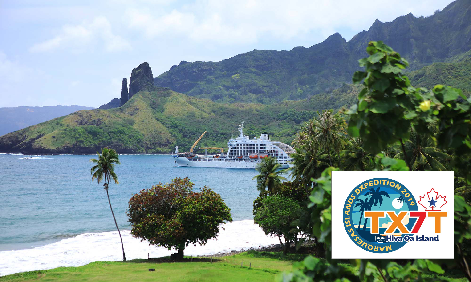 TX7T Marquesas saranno attivi in FT8