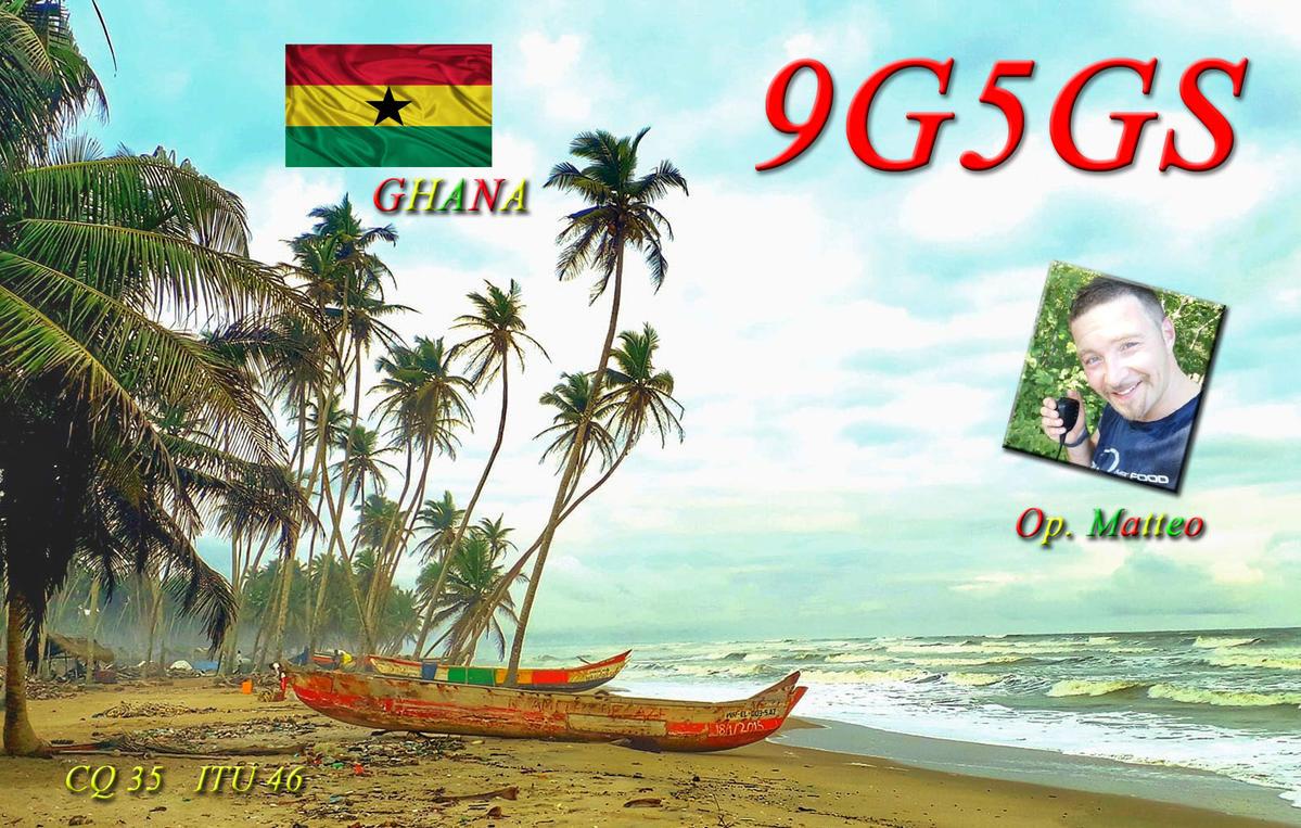 9G5GS Ghana saranno attivi in FT8
