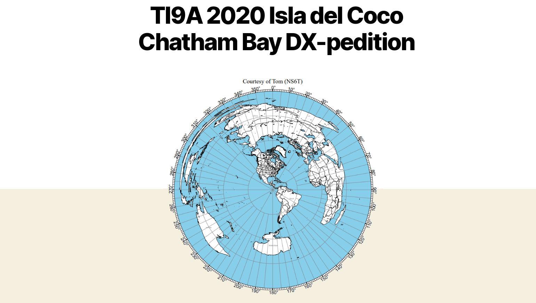 TI9A Cocos Island saranno attivi in FT8