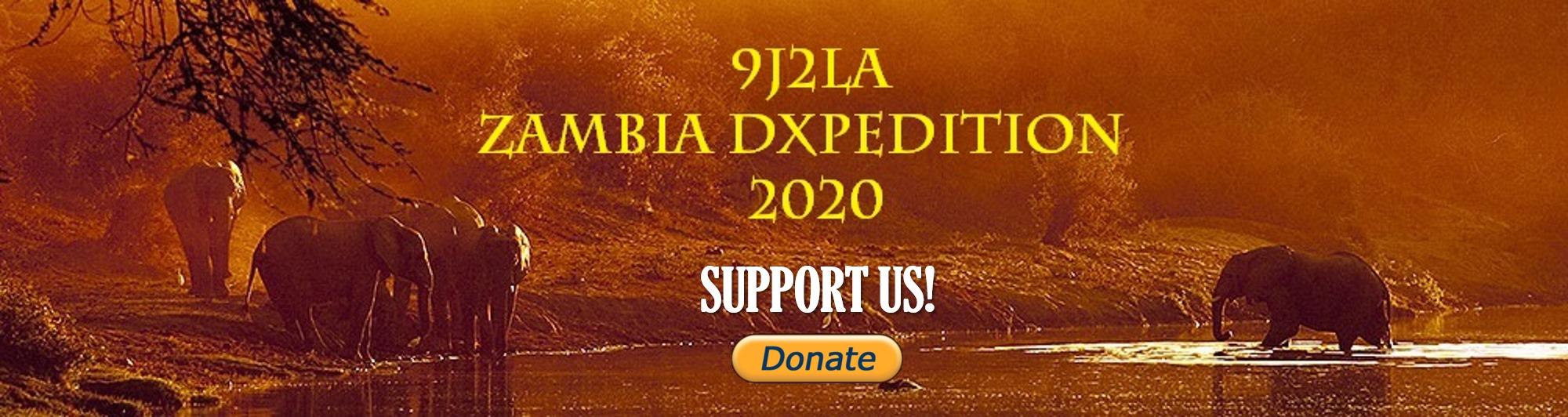 9J2LA Zambia saranno attivi in FT8