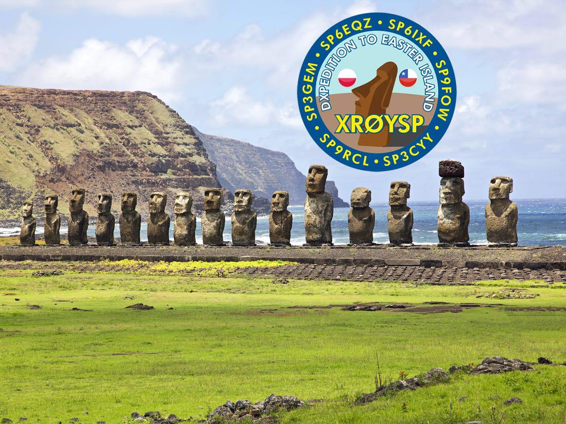 XR0YSP Isola di Pasqua saranno attivi in FT8