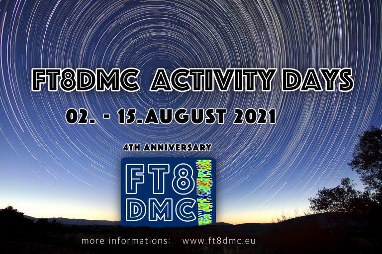 FT8DMC Activity Days 2021