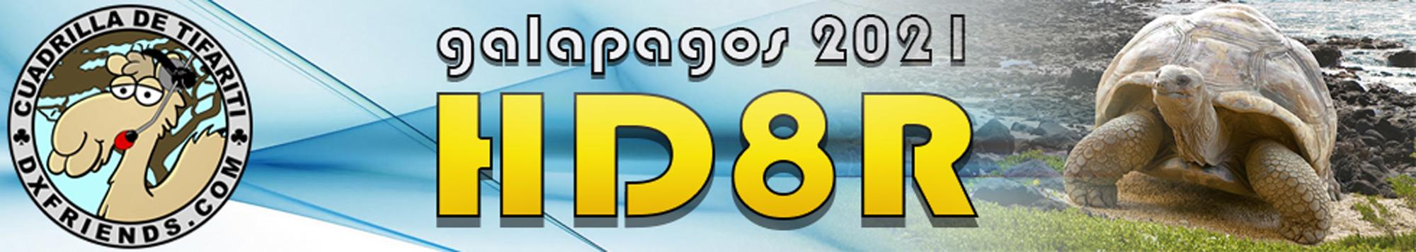 HD8R Galapagos Islands saranno attivi in FT8